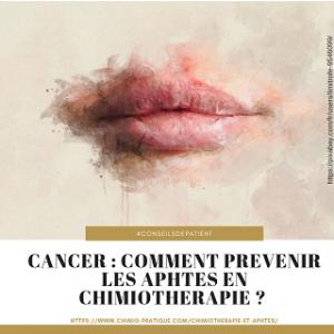 cancer : quelle prévention pour les aphtes
