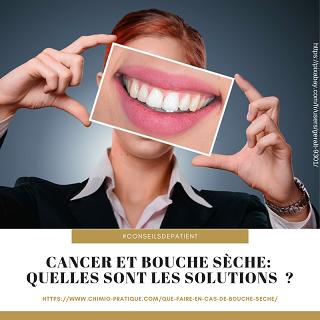 Cancer : quelles sont les solutions contre la bouche sèche ?