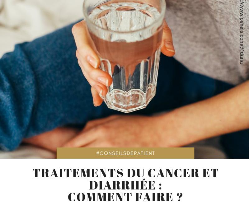 Chimiothérapie et cancer : quelles sont les solutions contre la diarrhée ?