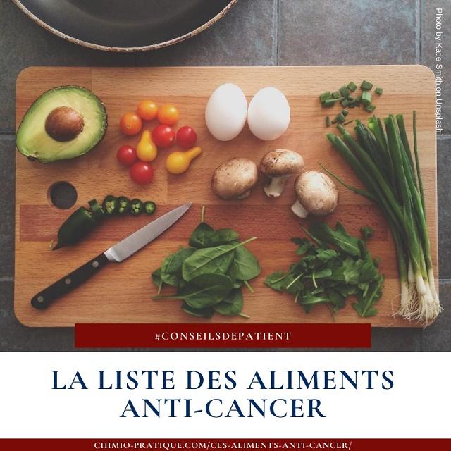 Quels sont les aliments anti-cancer ? La liste