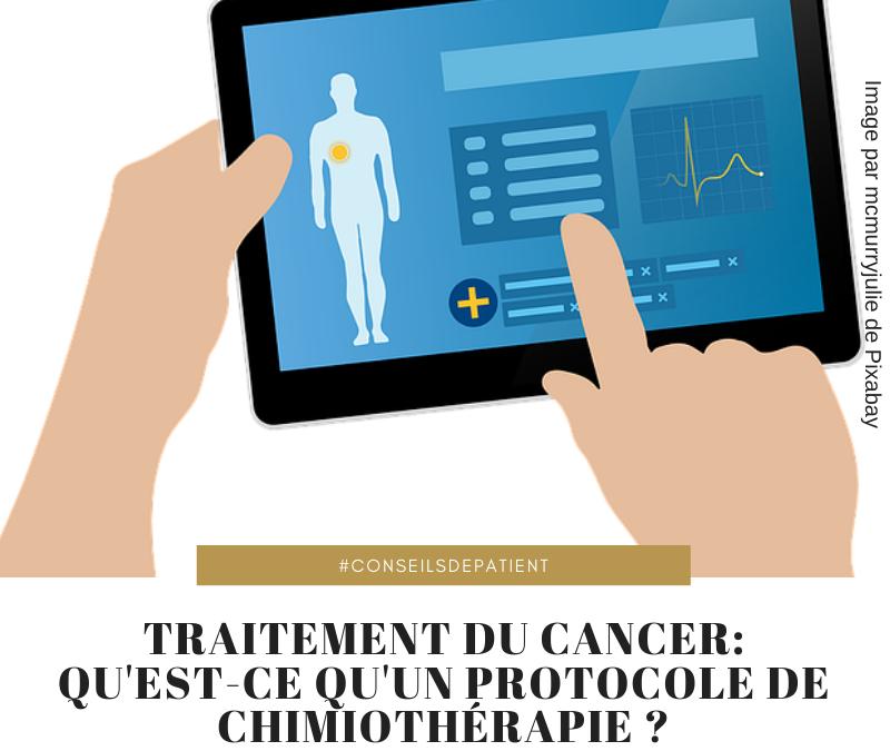 Cancer : Qu'est-ce qu'un protocole de chimiothérapie ?