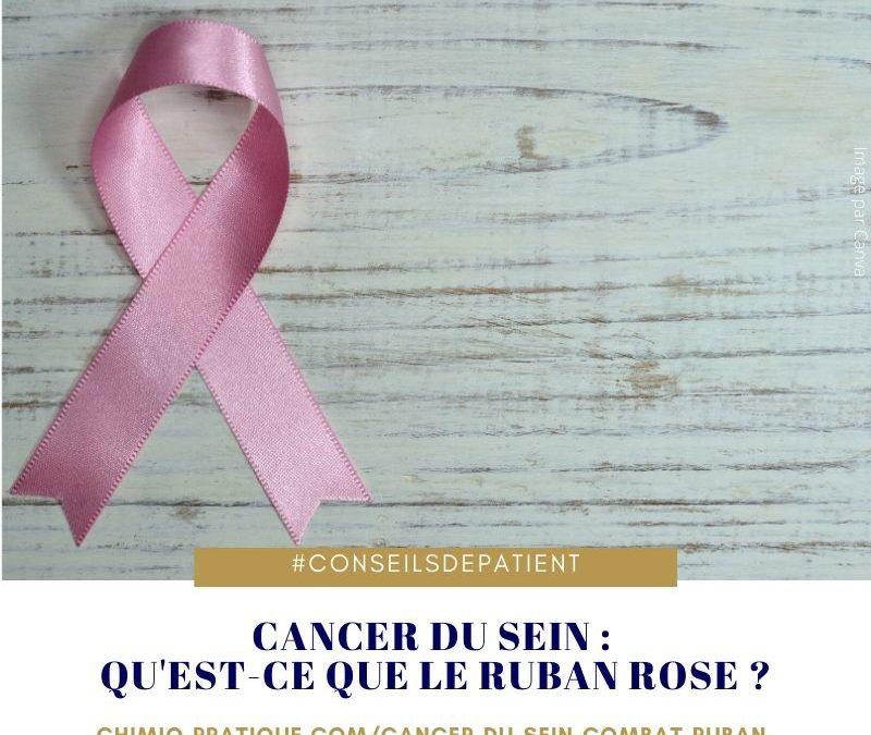 Pourquoi le ruban rose est le symbole du cancer du sein ?