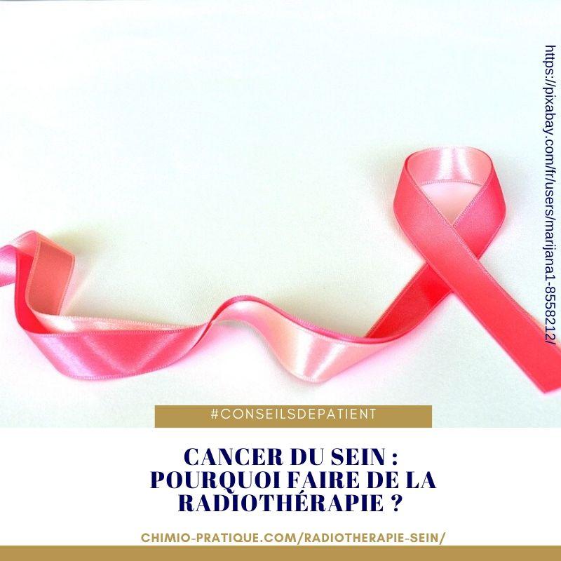 cancer du sein : comment suivre une radiothérapie