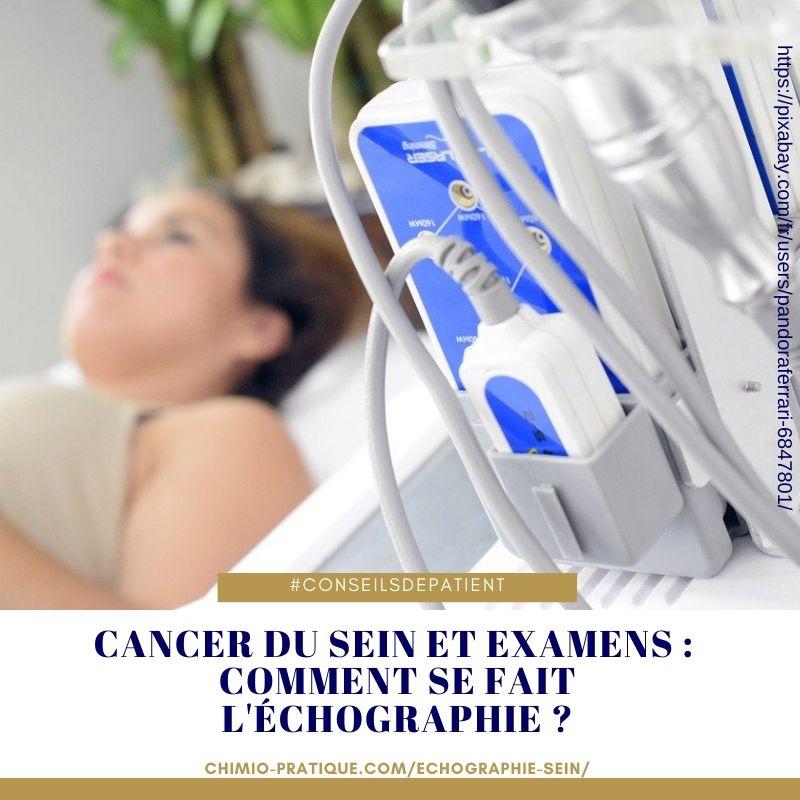 comment se passe l'échographie mammaire