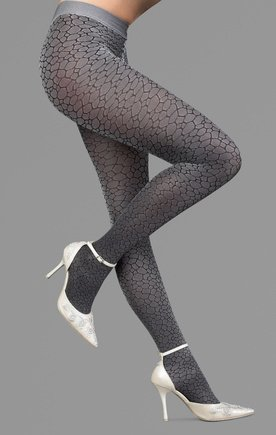 compression-veineuse-collant-gris