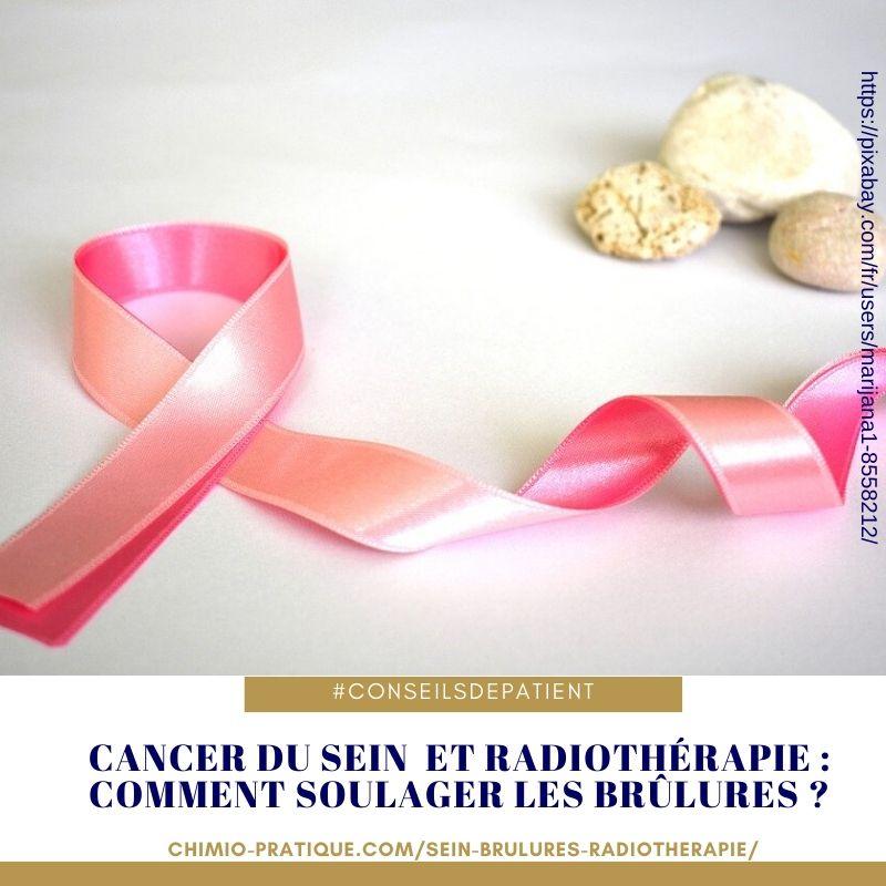 cancer du sein : quelles solutions aux brulures de la radiothérapie