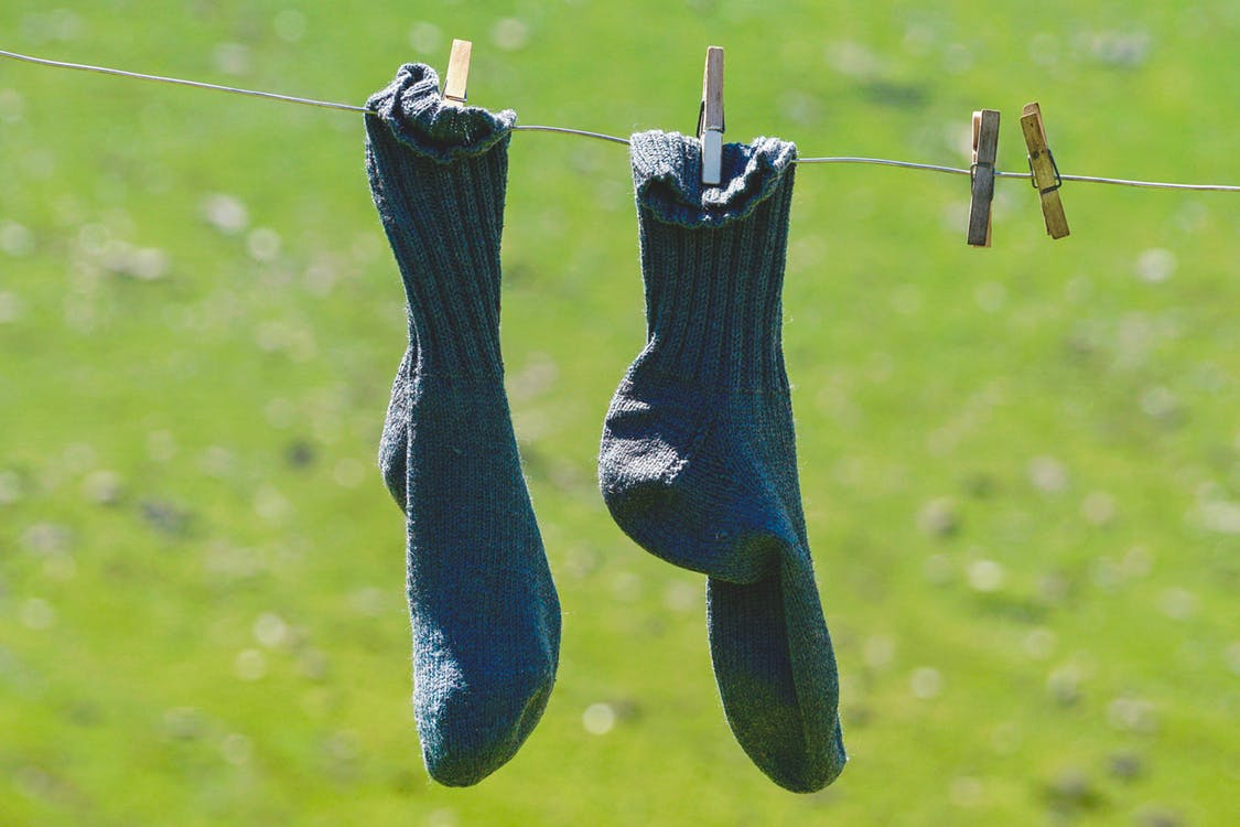 faire-secher-chaussettes-contention