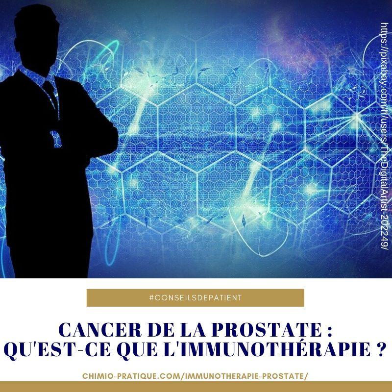 cancer prostate immunothérapie