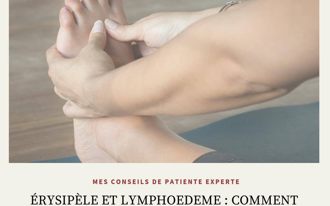 Comment soigner un érysipèle en cas de lymphœdème?