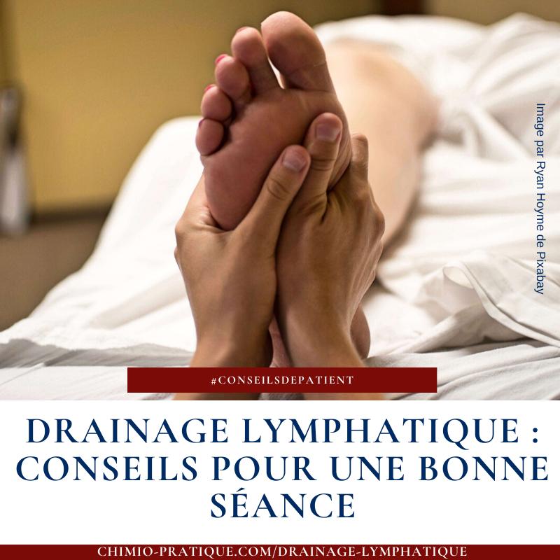 comment avoir une bonne séance de drainage lymphatique