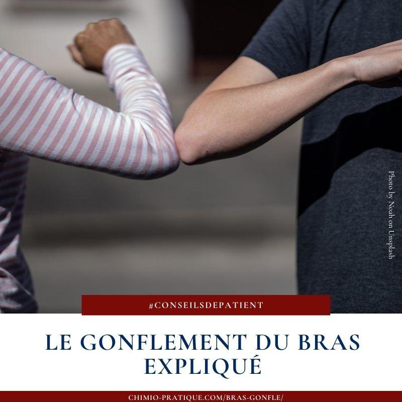 gonflement-bras