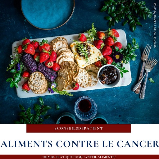 Quelle alimentation quand on a un cancer ?