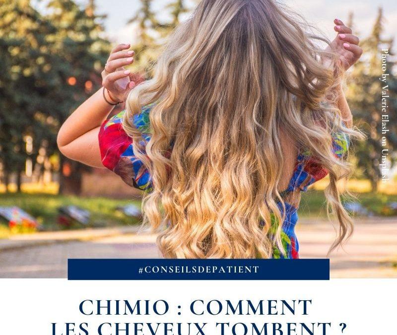 Comment tombent les cheveux en chimiothérapie ?